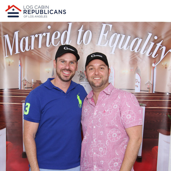 Log Cabin Republicans at LA Pride